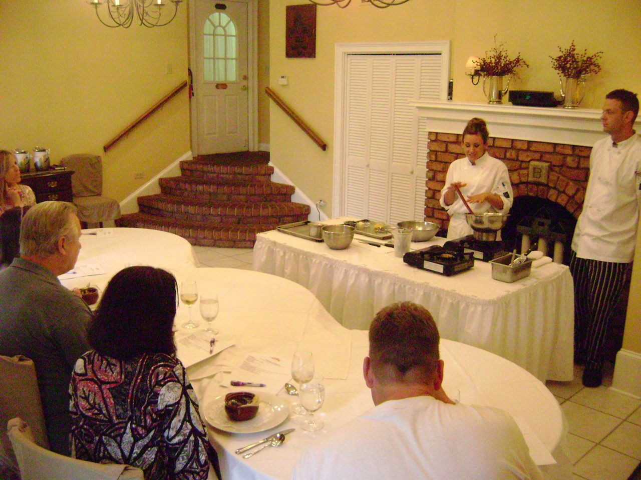 Cooking Demonstration Class