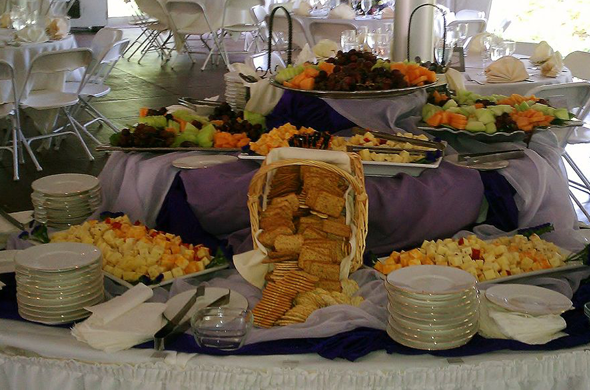 Gibsonville Greensboro NC Wedding Reception Catering590x390