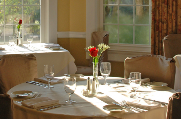 Gibsonville NC Bed & Breakfast Inn - Restaurant - Wedding & Event Venue